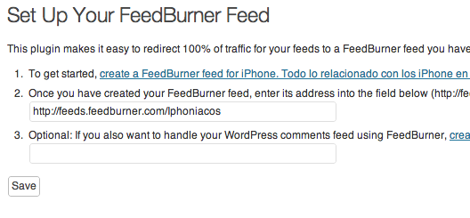 feedburner by feedsmith plugin wordpress