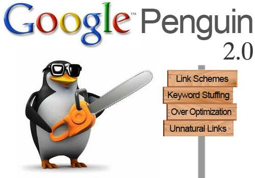 penalizar google penguin 2.0