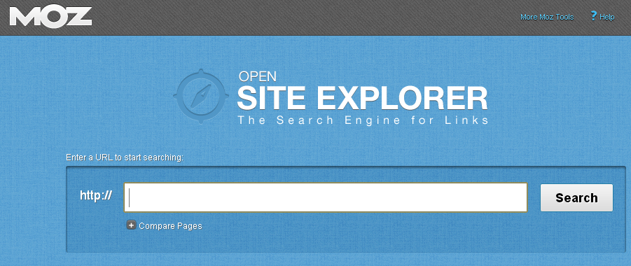 Opensiteexplorer de SEOmoz