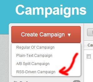 Campañas con MailChimp