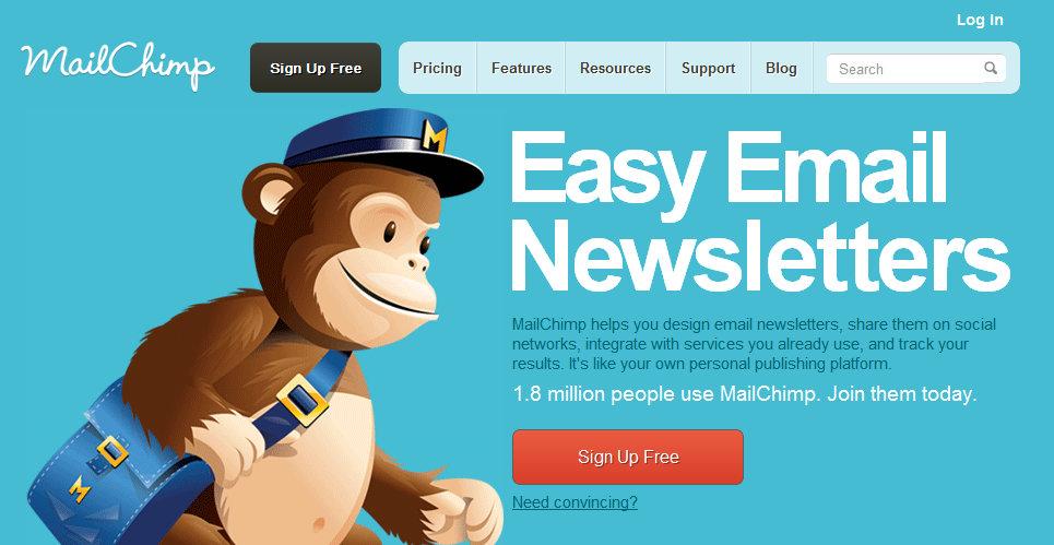 Guia para MailChimp