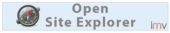 Análisis de enlaces con Open Site Explorer