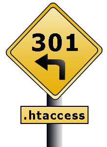 hacer redirección 301