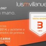 Premios Bitácoras 2014. ¡Jugando la última bala!