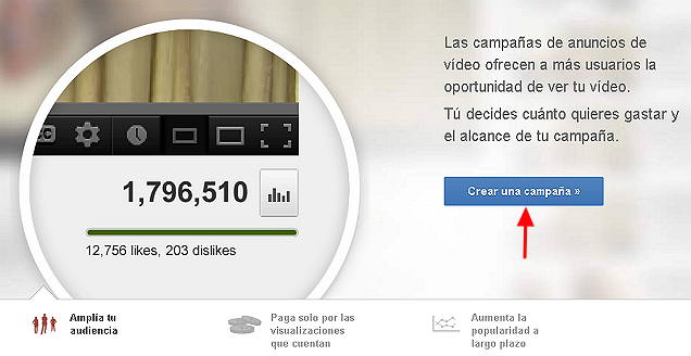 campaña de adwords para video3