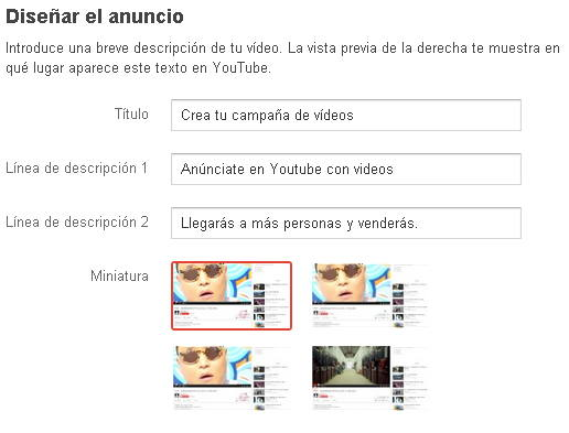 campaña de adwords para video5